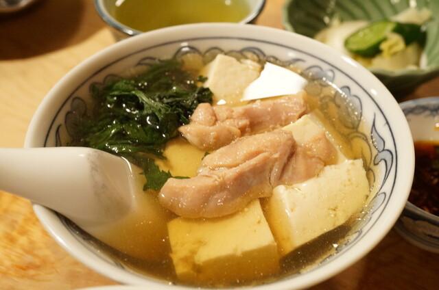 大衆割烹 三州屋 本店 - 鳥豆腐(480円)