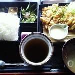 TAMAMIYA - 伝説のから揚げ弁当(ご飯大盛り)