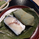 36623363 - 柿の葉寿司(古都セット)