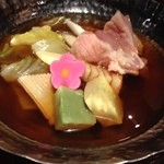 和酒と和談 かこみ料理 醍庵 - <犀川コース>鶏の治部煮鍋 小鍋仕立て