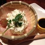 和酒と和談 かこみ料理 醍庵 - ふんわり手作りざるチーズケーキ