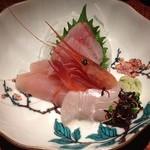 和酒と和談 かこみ料理 醍庵 - <犀川コース>きときと鮮魚盛合わせ