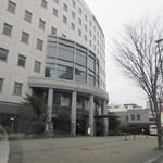 ホテルレガロ福岡 - ホテルはパピオボールの前にありますよ。