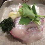 季節料理 ふる川 - 鯛しゃぶ