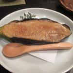 季節料理 ふる川 - ナスの田楽。