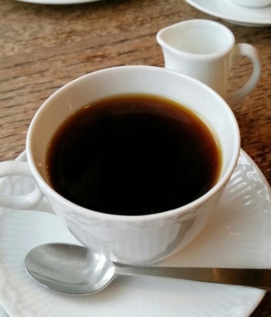 ベルグフェルド 長谷店 - セットのコーヒー