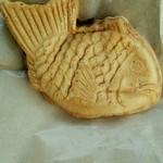 幸せの黄金鯛焼き - 料理写真:幸せの黄金たい焼き 黄金あん 150円