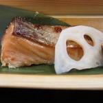 36626857 - 鮭の西京焼き