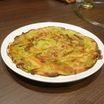 宙 SORA 韓国家庭料理&焼肉 - セットのチジミ