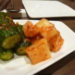 宙 SORA 韓国家庭料理&焼肉 - 美味しいカクテキでした、適度の乳酸醗酵が・・