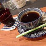 かのん - ランチ時サービスのコーヒー