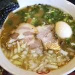 丸千製麺 - とと(魚)味・豚叉焼・味玉入り