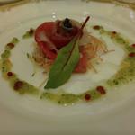 ホテルオークラ東京 - 真鯛と赤身鮪のカルパッチョ