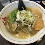 麺や蔵人 - 白蛤