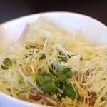ひだまりカフェ - ランチ(サラダ)