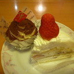 36629676 - ティラミスモンブラン、イタリアンショートケーキ