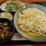 讃岐うどん 福一 - 肉汁つけうどん(600円)_2010-04-11