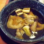 讃岐うどん 福一 - つけ汁_2010-04-11