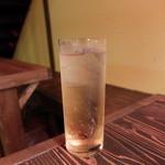 鶏頂天 - アップルワインハイボール