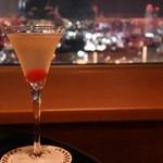 レインボーラウンジ - 帝国ホテル大阪15周年記念カクテル「天満人」
