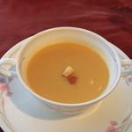 パレスサイドホテル Fermata - 1000円ランチのスープ