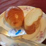 パレスサイドホテル Fermata - 1000円ランチのパン