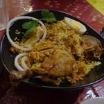 南インド家庭料理 インダスレイ - チキン・ビリヤニ1