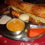 南インド家庭料理 インダスレイ - マサラドーサ