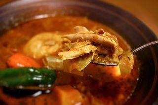 モグ - やわらかチキンのスープカレー(トマトスープ)