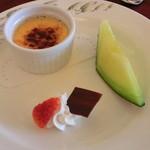 パレスサイドホテル Fermata - 2100円のランチのデザート