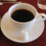 パレスサイドホテル Fermata - 2100円のランチのコーヒー