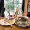 古民家カフェ&ダイニング 枇杏 - 料理写真:りんごのシブーストとブレンドコーヒー