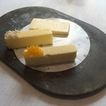 Steirereck - オーストリアバター&ポップコーンバター&パプリカバター