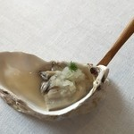 Steirereck - Oyster cooked in the shell with fennel