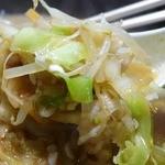 栄雅  - 野菜は、スープで煮込むタイプ。ちゃんぽん流