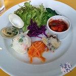 ボデガ サンタ リタ - 「Dランチ お米のパエージャ ランチセット」 1,650円 + 大盛り 150円