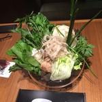 36639189 - しゃぶしゃぶの野菜