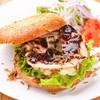 キッチネッテ - 料理写真:おから入マッシュポテトがヘルシー『五雑穀入ベーグルサンド』