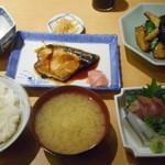 36640011 - B定食と茄子味噌