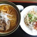 36640171 - 味噌ラーメンと水餃子