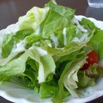 ルミエ・アターブル - 料理写真:セットのサラダ