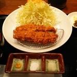渋谷で真の山形牛を扱うお店 加藤牛肉店シブツウ - 上ヒレカツ (1850円)