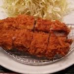 加藤牛肉店シブツウ - 上ヒレカツ