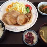 味美屋 - 料理写真:生姜焼き定食