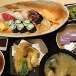 灯火 - 寿司天ぷら御膳お勧めしません!