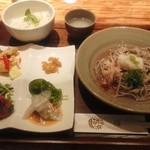 蕎麦ダイニング 一福 - 限定20食「一福ランチ」1080円