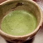日本料理 木の花 - 2015.4 お抹茶