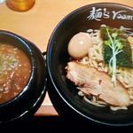 神虎 - 【つけ麺 並盛り + 味付玉子】¥830+¥100