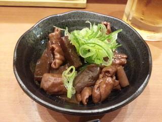 串揚げ 珍串 - どて煮(豚) 520円