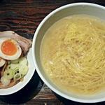 36668568 - 【(限定) 天然真鯛の塩ラーメン + 味つけ玉子】¥800 + ¥100